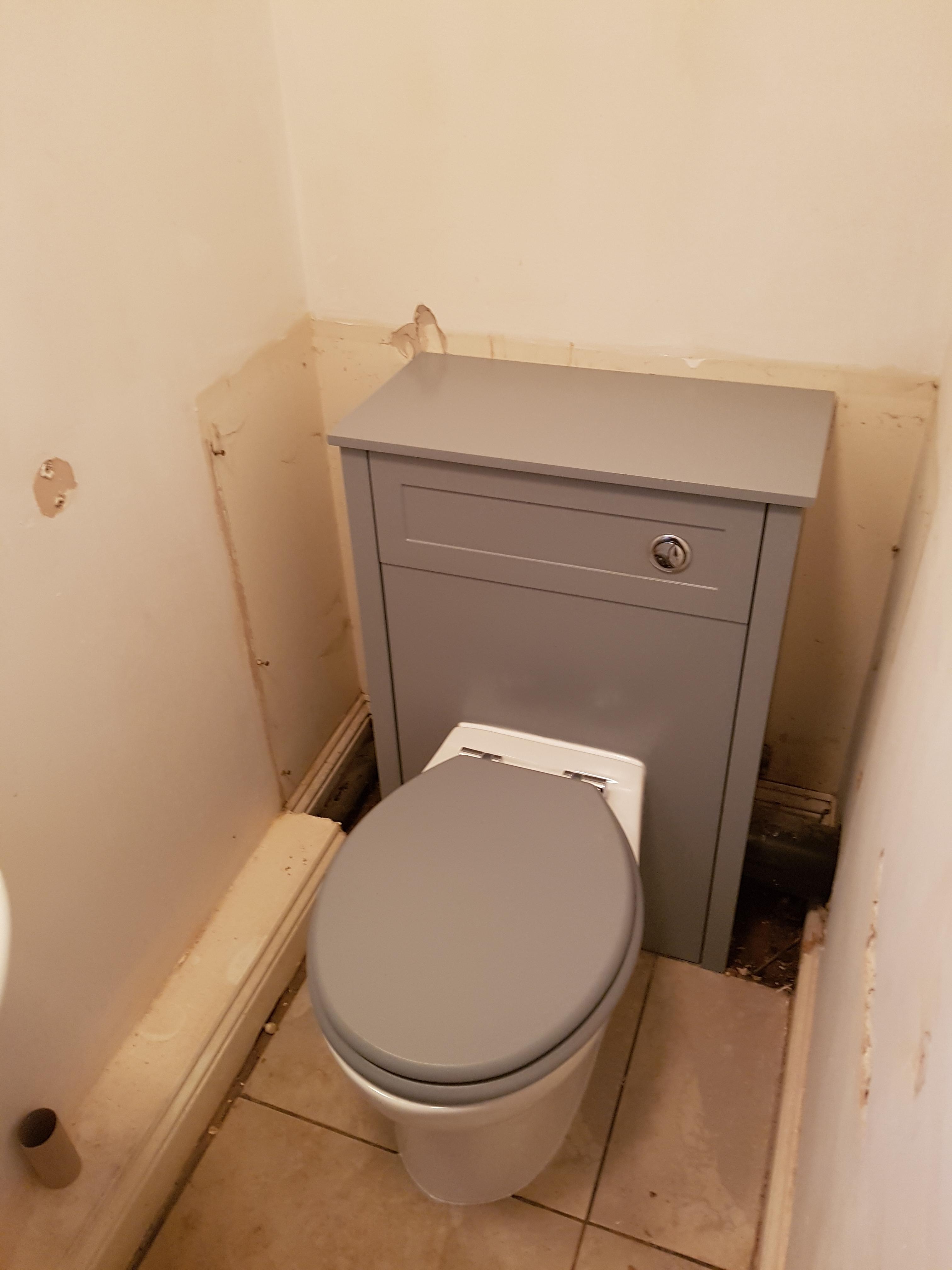 Toilet vanity unit