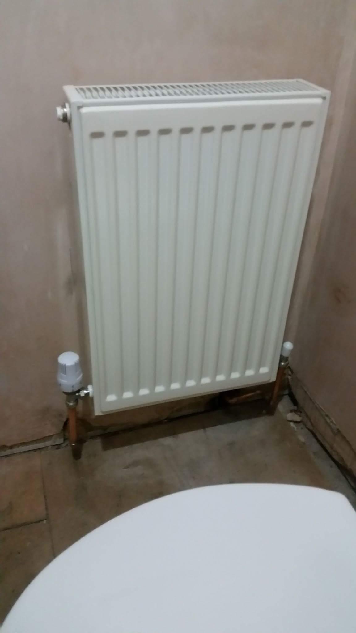 Radiator install