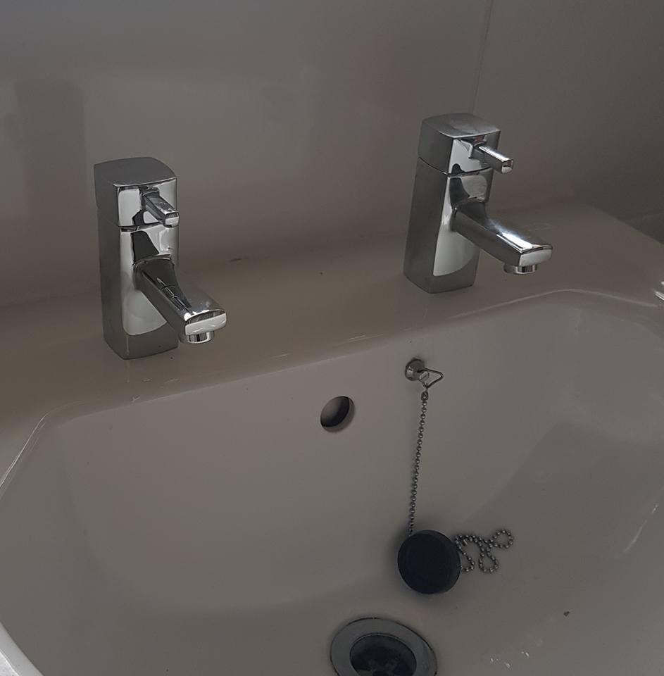 Modern basin taps