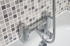 Bath taps with shower attachment (2)