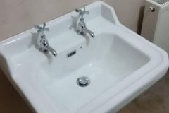 Basin install